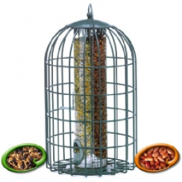 Squirrel Proof 2in1 Nut/Seed Feeder